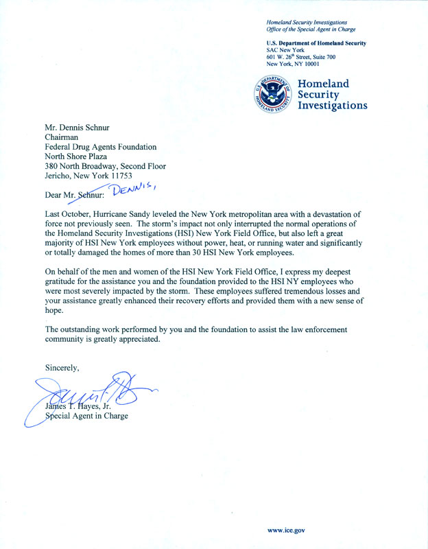 How To Write A Letter To The Dea